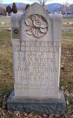 Mary Ellen <I>Woodhouse</I> White