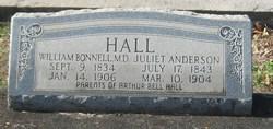 Dr William Bonnell Hall Sr.