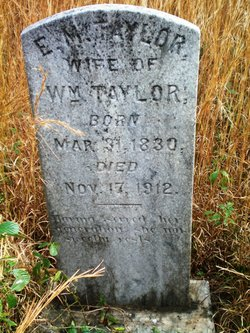 Elizabeth Mary <I>Carter</I> Taylor