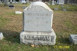 """Jane """"Jennie"""" <I>Stevenson</I> Merriam"""