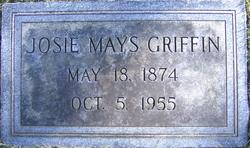 Josie <I>Mays</I> Griffin