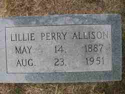 Lillie Bertie <I>Perry</I> Allison