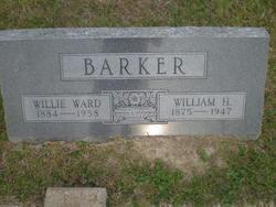 Willie <I>Ward</I> Barker