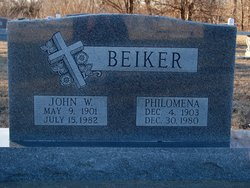 Philomena <I>Gassman</I> Beiker
