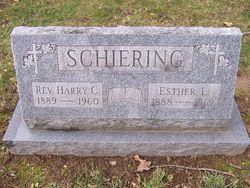Esther <I>Betscher</I> Schiering