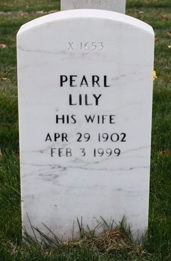 Pearl Lily <I>Fladland</I> Sjoquist