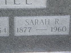 Sarah Rachel <I>Nichols</I> Gill