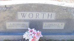 Florence <I>Williams</I> Worth