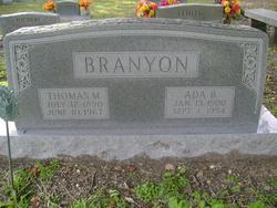 Ada B <I>Chesser</I> Branyon