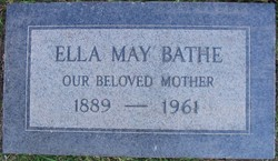 Ella May <I>Ball</I> Bathe