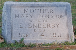 Mary Jane <I>Donahoe</I> Enderby