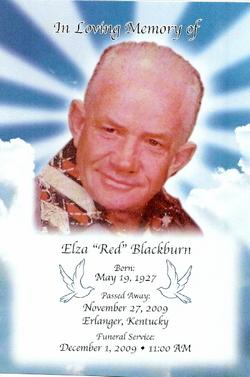 "Elza Francis ""Red"" Blackburn"
