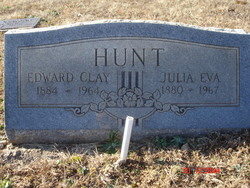 Mrs Julia Eva Hunt
