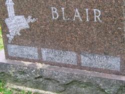 Clara <I>Dalton</I> Blair