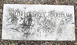 Mildred <I>Grey</I> Barham
