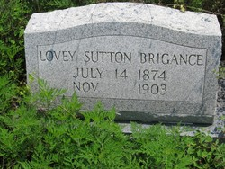 Lovey <I>Sutton</I> Brigance