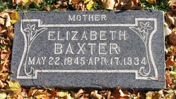 Elizabeth Currie <I>Kelly</I> Baxter