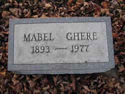 Mabel <I>Aughe</I> Ghere