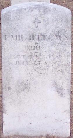 SGT Emil H Brown