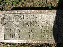 Patrick Lyons Bohannon