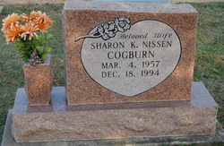 Sharon Kay <I>Nissen</I> Cogburn