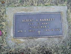 Albert Andrew Barrett