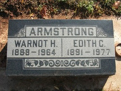 Edith Carrie <I>Parsons</I> Armstrong