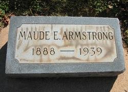 Maude E. Armstrong