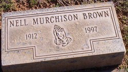 Nell <I>Murchison</I> Brown