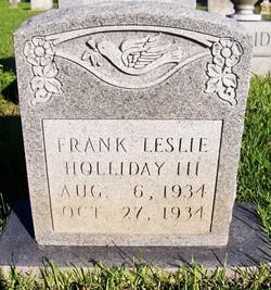 Frank Leslie Holliday III