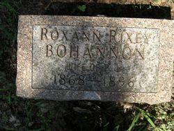 Roxann Rixey <I>Watson</I> Bohannon
