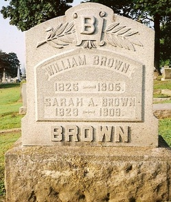 Sarah Ann <I>North</I> Brown