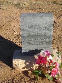 Bertha Gifford Matthews