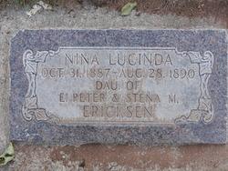 Nina Lucinda Erickson