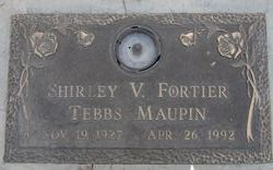 Shirley Virginia <I>Fortier</I> Maupin