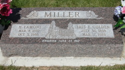 Iris Elizabeth <I>Golden</I> Miller