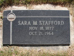 Sarah Margaret Stafford