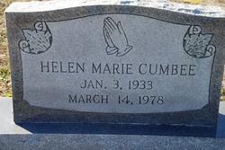 Helen Marie <I>Fulford</I> Cumbee
