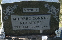 Mildred <I>Conner</I> Rusmisel