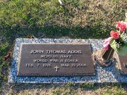 John Thomas Addis