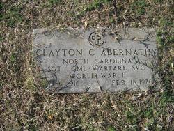 Clayton Charles Abernathy