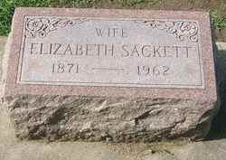 Elizabeth <I>Tooley</I> Sackett