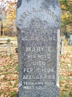 Mary E. <I>Scott</I> Andrews