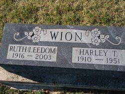 Ruth <I>Leedom</I> Wion