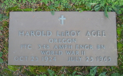 Harold LeRoy Agee