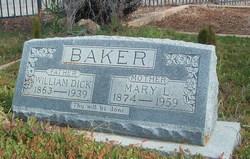 Mary Love <I>Barnett</I> Baker