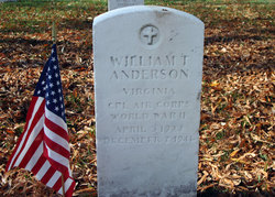 CPL William Thomas Anderson