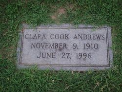 Clara Mable <I>Cook</I> Andrews
