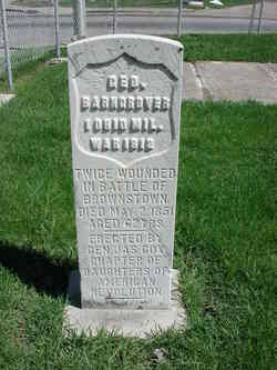 Pvt George W. Barngrover