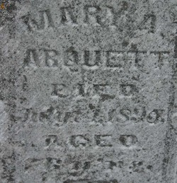 Mary A Arquett